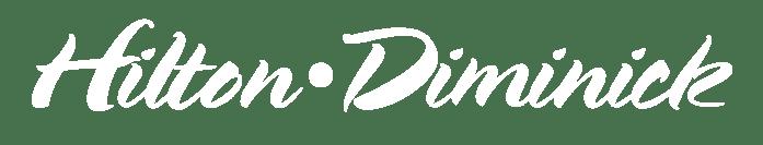 Hilton Diminick white logo